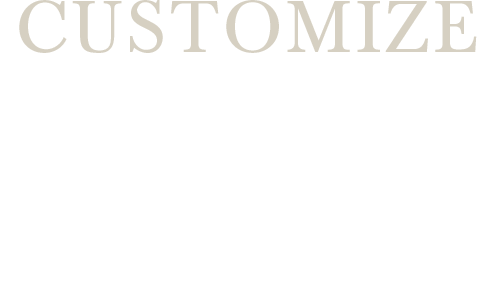 CUSTOMIZE about WATCH
