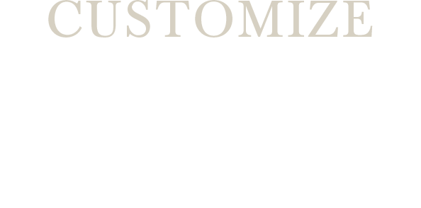 CUSTOMIZE about GLASSES